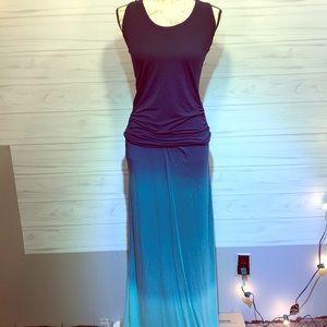 Young Fabulous & Broke Ombré Maxi Dress Small